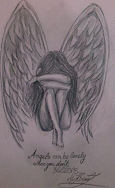 draw - zeichnen - to draw draw- draw - zeichnen - to draw draw Broken Angel Drawing Pic Gallery Broken Angel Drawing Pic Drawings Art Sketch (notitle) Easy Pencil Drawings, Pencil Sketch Drawing, Sad Drawings, Girl Drawing Sketches, Dark Art Drawings, Tattoo Sketches, Drawing Ideas, Drawing Drawing, Good Sketches