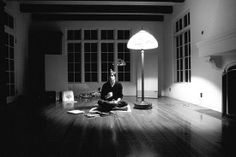 Steve Jobs in the living room