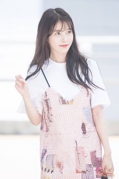 Iu Hair, My Wife Is, Cute Cartoon Wallpapers, Girl Crushes, My Idol, Rompers, Actresses, Poses, Female