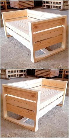 The last 50 wood recycling pallet furniture projects # Wood furniture .- Die letzten 50 Holzrecycling-Palettenmöbelprojekte The last 50 wood recycling pallet furniture projects # Wood Furniture - Recycled Pallet Furniture, Pallet Furniture Designs, Furniture Ideas, Rustic Furniture, Furniture Market, Furniture Movers, Furniture From Pallets, Diy Wood Furniture Projects, Luxury Furniture