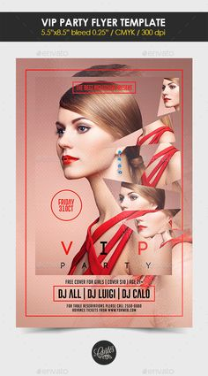 Vip Party Flyer Template #design Download: http://graphicriver.net/item/vip-party-flyer-template/12754957?ref=ksioks