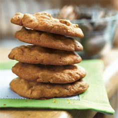 Crispy Praline Cookies | Your celebration won't be complete without one of these delicious pecan desserts.