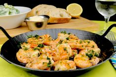 Garlic Shrimp Pan - Too Lazy to Cook? - Simple and delicious garlic shrimp pan - pasta rezept healthy pasta recipes Rice Recipes For Dinner, Cooking White Rice, Ground Beef Recipes Easy, Beef And Rice, Lentil Curry, Garlic Shrimp, Shrimp Recipes, Nutritious Meals, Food Inspiration
