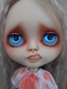 Custom Vampire Blythe Doll