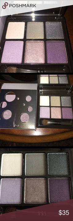 MAC Eyeshadow '6 Sorceress' eye shadows. 'White Rabbit/Hold My Gaze/Edge of Dark/Magnetized/Hypnotizing/Altered State MAC Cosmetics Makeup Eyeshadow