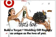 Target has been getting a lot of attention lately for its seemingly remade image on LGBT equality. The newest sign of change comes in a lesbian-inclusive advertisement for its online wedding registry.