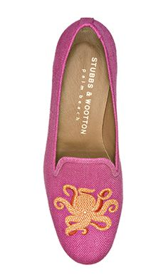 28b68eb3aa7 OCTOPUS FUCHSIA - Classic Slippers by Stubbs  amp  Wootton - SPRING 2013.  www.