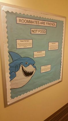 Finding Nemo (Roommate) Bulletin Board