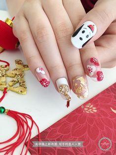 Snoopy CNY Nail Art 新年又到啦!今年是农历狗年。不知道大家有没有联想到一个卡通呢?那就是史努比 Snoopy 啦! #DressUpYourNails #美甲换上新衣裳 #ManiqureMy #ChineseNewYear #CNY #CNYnails #LunarYear #LunarYearNails #Nailfitoftheday #notd #ootd #Outfitoftheday #Nail #Manicure #Pedicure #Nailart #Fashion