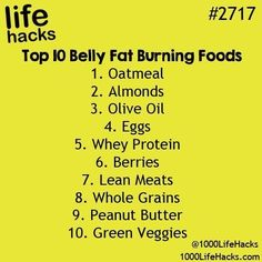 The best DIY projects & DIY ideas and tutorials: sewing, paper craft, DIY. Ideas About DIY Life Hacks & Crafts 2017 / 2018 10 Belly Fat Burning Foods -Read Diet Food To Lose Weight, Quick Weight Loss Tips, Fast Weight Loss, How To Lose Weight Fast, Weight Gain, Healthy Weight, Fat Fast, Body Weight, Reduce Weight