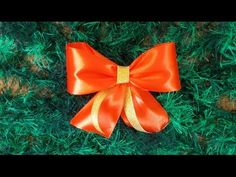 Как Сделать Красивый Бант из Ленты Просто Быстро/How to make Hair Bow/Подарки Поделки своими руками - YouTube