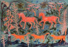 'Evening Parade' by Sarah Raphael Balme