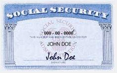 Social Security Card