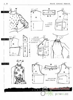 Friends model applied blouse pattern samples will be useful to examine :] :] . Friends model applied blouse pattern samples to examine the benefit of . Easy Sewing Patterns, Sewing Tutorials, Sewing Projects, Blouse Patterns, Clothing Patterns, Women's Clothing, Boutique Clothing, Patron Vintage, Sewing Blouses