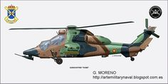 Pintura Militar y Naval: Eurocopter Tigre Helicopter Pilots, Attack Helicopter, Military Helicopter, Military Jets, Military Aircraft, Spanish Air Force, Jet Air, Nose Art, Model Airplanes