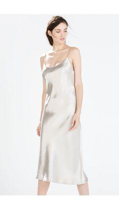 Zara fall 2014 slip dress