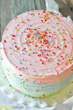 Five Layer Celebration Cake
