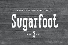 Sugarfoot by thomas_ramey on @creativemarket