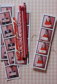 DIY photo booth Valentines  {Blonde Designs Blog}
