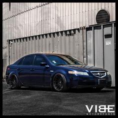 Best Acura Images On Pinterest Wheel Rim Acura Tl And Pontiac G - Acura tl rims black