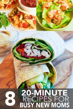 8 Twenty-Minute Recipes for Busy New Moms