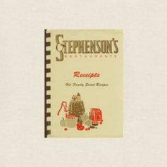 Stephenson's Apple Farm Restaurant Cookbook - Booklet