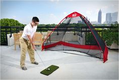 Pop-Up Golf Practice Net - IcreativeD