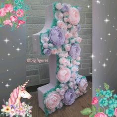 1 million+ Stunning Free Images to Use Anywhere Girl Birthday, Happy Birthday, Cardboard Letters, Diy And Crafts, Paper Crafts, Free To Use Images, Floral Letters, Diy Party Decorations, Baby Party
