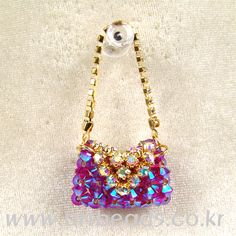 Beaded Mini Purse PATTERN artbeads