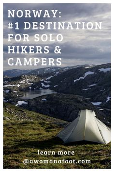 Norway Is The Best Destination For Hiking and Camping Solo. Peruse All The Reasons Why I Think So Best Hiking Destinations Trails For Solo Hiking Solo Wild Camping In Norway Female Hikers Europe Travel Tips, European Travel, Travel Guides, Budget Travel, Travel Advice, Hiking Norway, Norway Travel, Norway Camping, Camping Europe