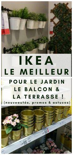 Découvrez les astuces, promotions et nouveautés pour le jardin, le balcon et la terrasse chez IKEA ! #IKEA #DECO #JARDIN #SHOPPING Ikea Deco, Plants, Shopping, Gardens, Pools, Outdoor Seating, February, Plant, Planets