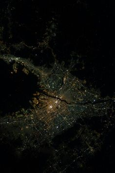 Osaka seen from space