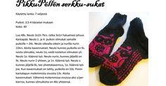 PikkuPöllönSerkku.pdf Fingerless Gloves, Arm Warmers, Pdf, Tutorials, Knitting, Crochet, Fingerless Mitts, Tricot, Breien