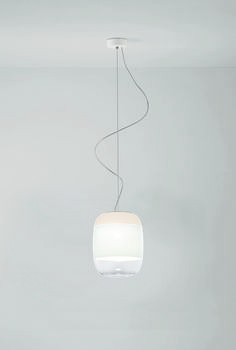 Gong suspended lamp by Prandina lighting