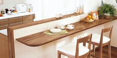 Small Tables, Counter, Interior, Kitchen, Google, Furniture, Home Decor, Wood, Small End Tables
