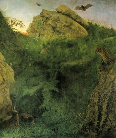 Pre Raphaelite Art: Twilight