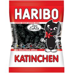 -in USA- HARIBO Katinchen - Licorice Kitties - 200 g