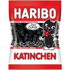 -in USA- HARIBO Katinchen - Licorice Kitties - 200 g