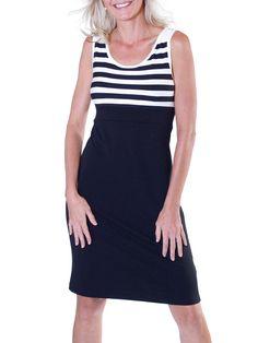 Jalie 3024 - Knit Dress with Scoop Neckline