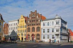 ALEMANIA - STRALSUND (2002). Situada junto al Mar Báltico formó parte de la Liga Hanseática del siglo XIII al XV.  #Stralsund