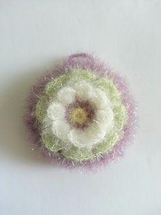 이름하여 핀플라워(pin flower) 수세미~ 송쥬님께 구매한 메르시 실로 수세미 떴어요 여리여리 연두와 연하... Crochet Flowers, Crochet Earrings, Arts And Crafts, Knitting, Mini, Floral, Jewelry, Dishcloth, Garlands