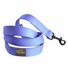 Nylon Webbing Dog Leash - 4 or 5 - 17 colors to choose from via Etsy