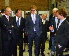 Minister Kamp en Staatssecreatris Dekker in Delft Centraal op Stadsradio Delft