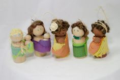 Wooden Wrap Scrap Babywearing Doll by BabywearingLove on Etsy, $10.00