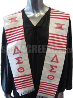 7fd58b18d7 Delta Sigma Theta Kente Graduation Stole Fraternity Shirts