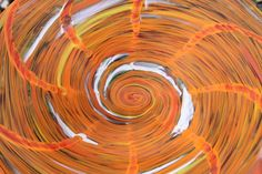 Mandarin Orange Hand Blown Glass Bird Bath by alisglassdesigns, $72.00