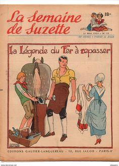 Maggie Salcedo, La Semaine de Suzette - La semaine de Suzette n°25 La légende du fer à repasser - Une Diffa chez le caid - la légende des flamants roses de 1953