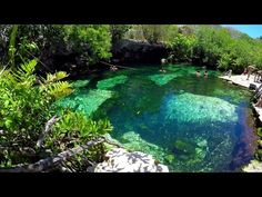 Cenote Cristalino the Natural Fish Spa Riviera Maya Yucatan Mexico Cenotes Cristallino GoPro Hero 4 UHD 4K Traveltip MM on Tour for Playa del Carmen or Akumal or Tulum Mexico. Visited on may 2016. Beautiful cenotes with #crystalclear water near #Play