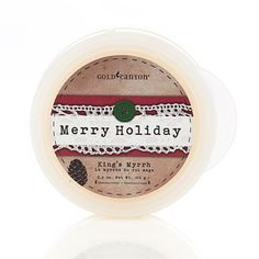2.4 oz. King's Myrrh Scent Pod® with its crisp fresh notes of myrrh and winter foliage combines with a Scent Pod Warmer to create a standout #gift from #gold canyon.