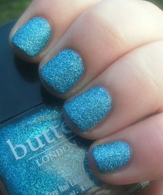 Butter London - Scallywag. #nails